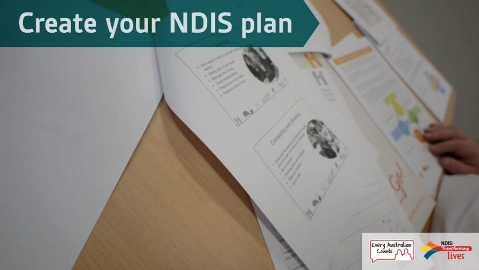 Create your NDIS plan