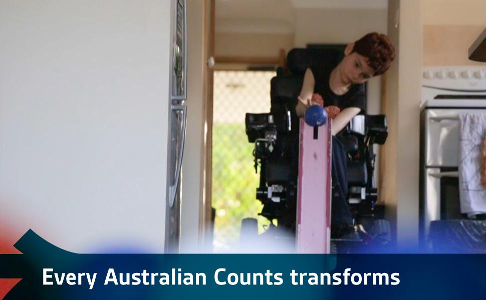 Every Australian Counts transforms