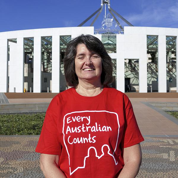 Carleeta at Parliament House