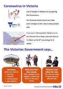 Page 2. Coronavirus in Victoria