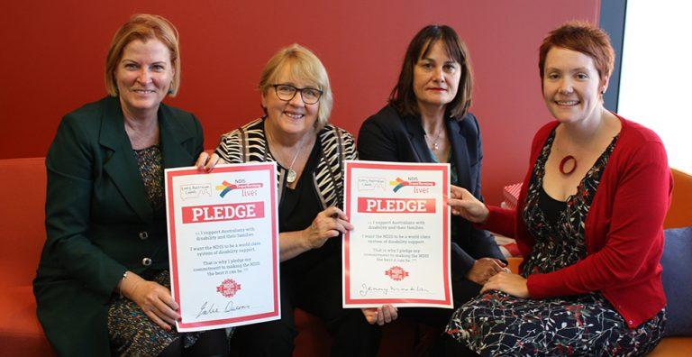 Jenny Macklin signed pledge