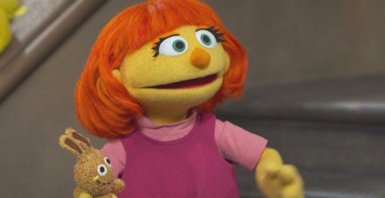 Julia on Sesame Street