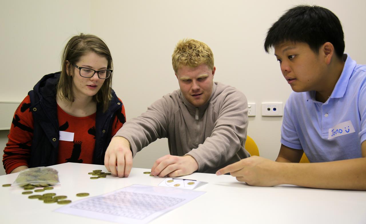 Students at Monash's Berwick campus