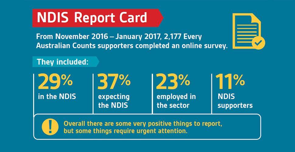 NDIS report card sample