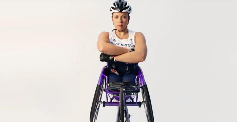 Paralympian hero photo