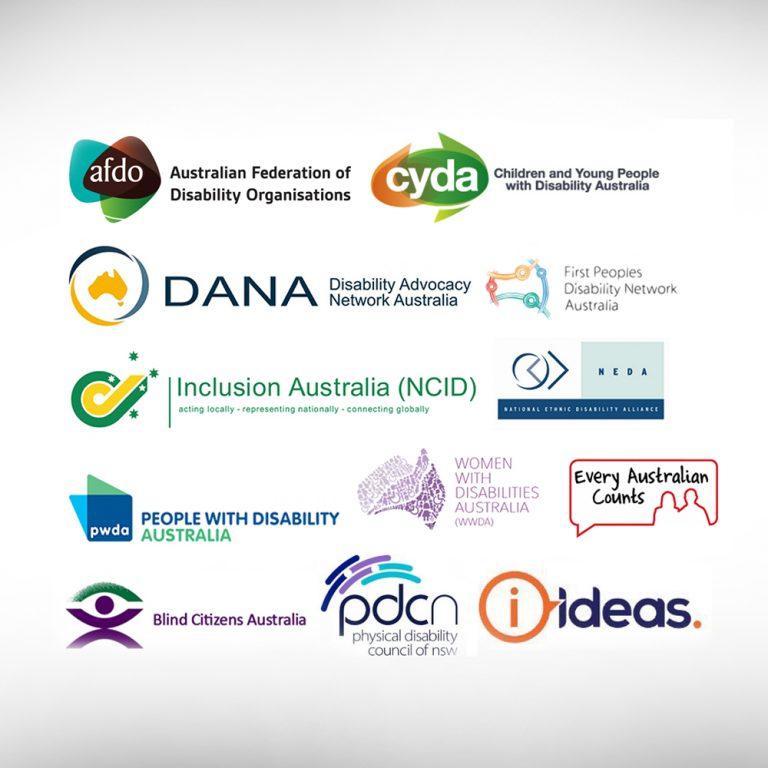 Logos - AFDO, CYDA, DANA, FPDN, IA, NEDA, PWDA, WWDA, EAC, BCA, Ideas, PDCNSW