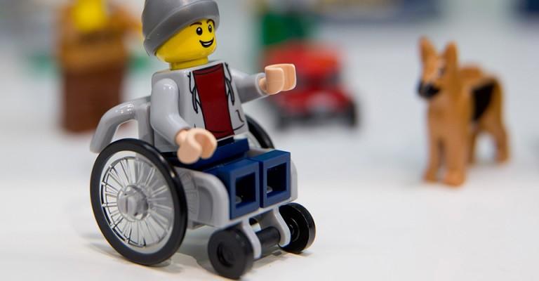 Lego's wheelchair figure a 'toy like me'